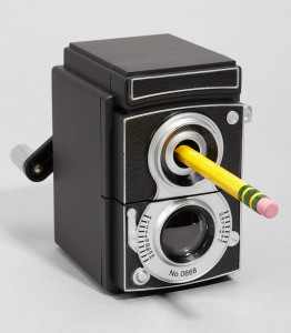 Kikkerland Camera Pencil Sharpener