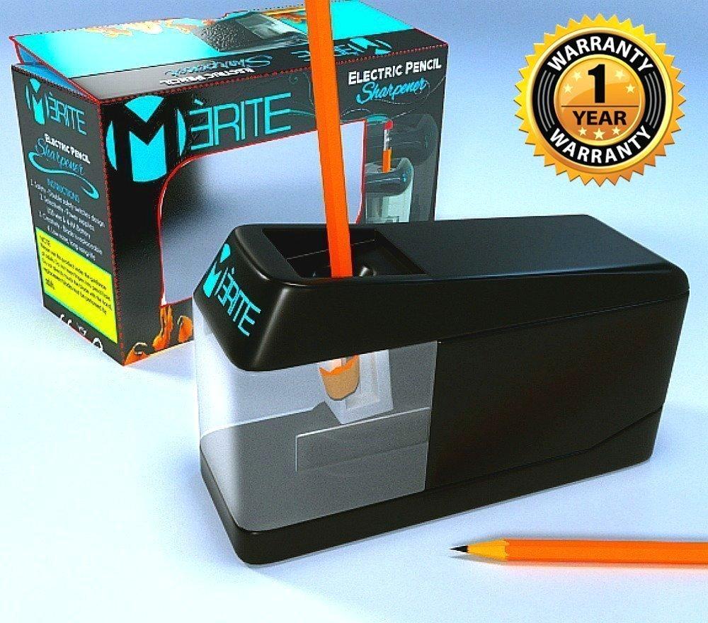 Merite Premium Electric Mechanical Pencil Sharpener